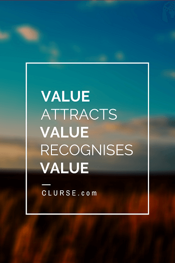 Recognise value